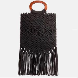 Danielle Nicole Macrame Handbag